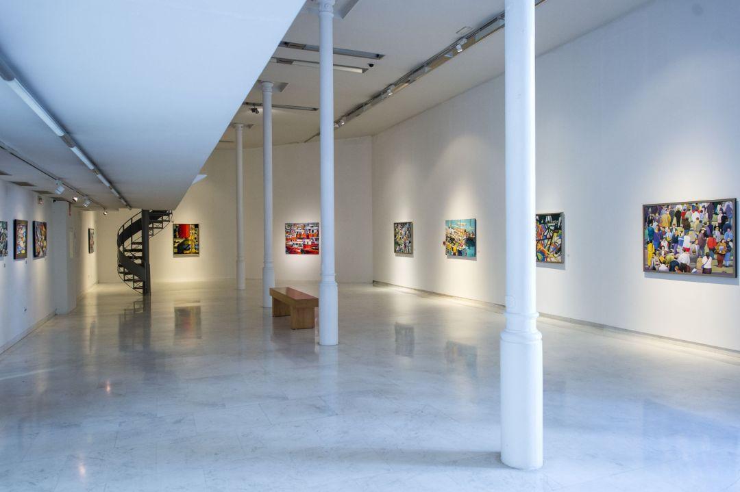 ' Exposicion en Ourense'
