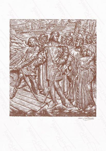'Embarque de Pedro I de Castilla'