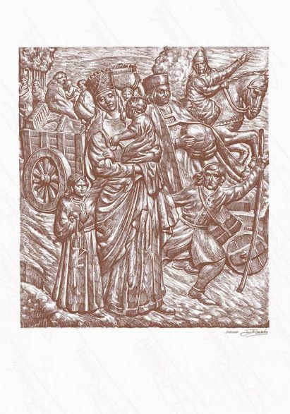 'Refundacion de la ciudad por Alfonso IX '